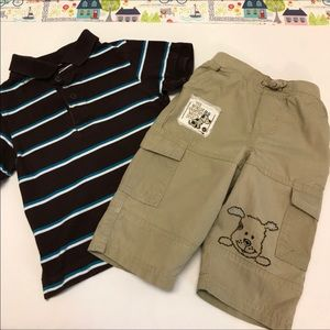 """Polo & """"Greatest Watch Dog"""" Khakis Outfit"""